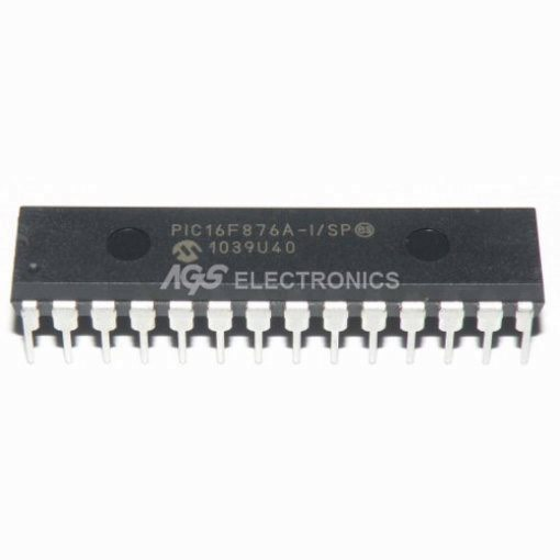 PIC16F876A-I/SP MICROCHIP 28PIN MICROCONTROLLORE PIC16F876A - I/SP