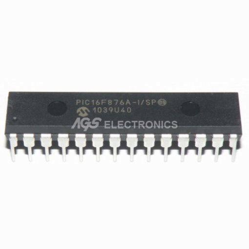 PIC16F876A-I/SP MICROCHIP 28PIN MICROCONTROLLORE PIC16F876A - I/SP