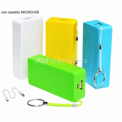 Accessori Compatibili Power bank - PWBANK-4600-B - PWBANK4600B
