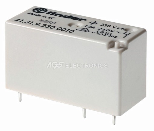 Rele miniatura serie H commutato 230Vca 1Ct.3 pin 29.0X15.7X12.5mm RL-057