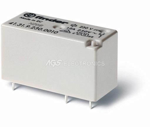 Relè miniatura serie H commutato 230Vca 16A 29.0x15.7x12.5mm