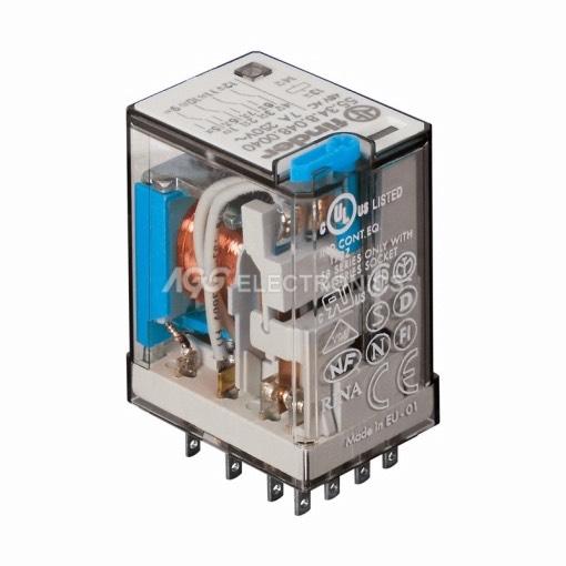 relè industriale 110vcc 4ctos.7a - RL-444 - RL444