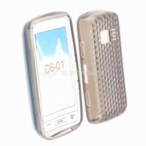 Custodia silicone compatibile per Nokia - SIL-NOK-C6-01N