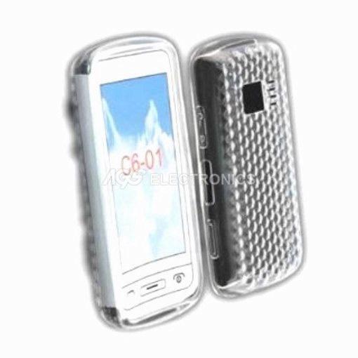 Custodia silicone compatibile per Nokia - SIL-NOK-C6-01T