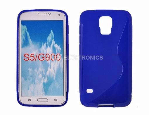 Custodia silicone compatibile per Samsung - SIL-SAM-G900B - SILSAMG900B