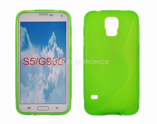 Custodia silicone compatibile per Samsung - SIL-SAM-G900V - SILSAMG900V
