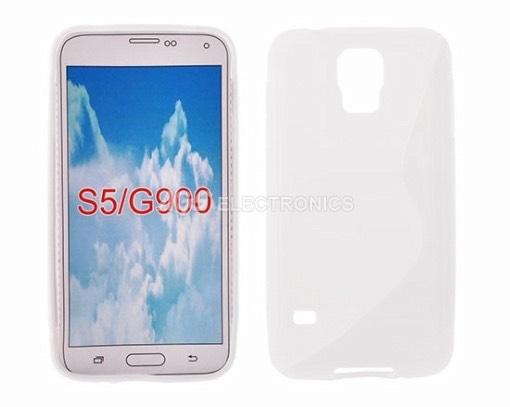 Custodia silicone compatibile per Samsung - SIL-SAM-G900W - SILSAMG900W