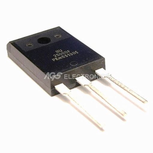 BU2508DF - BU 2508DF Transistor SI-N+DI 1500V 8A 45W 0.4u