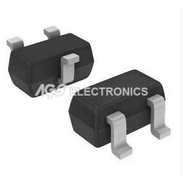10 x BC847 - BC 847 = BCW71  , BCX70 Transistor SMD SI-N 50V 0,1A  (10 pezzi)