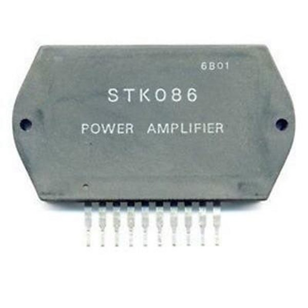 STK086 -  STK 086 POWER AMPLIFIER 1X70W 42V 20KHZ