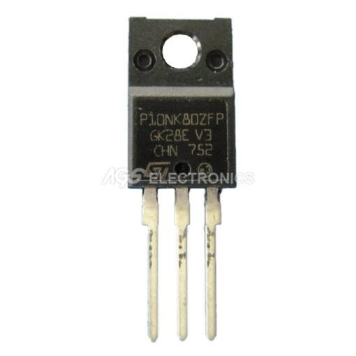 P10NK80ZFP - STP10NK80ZFP MOSFET N-Cannel 800V 9A