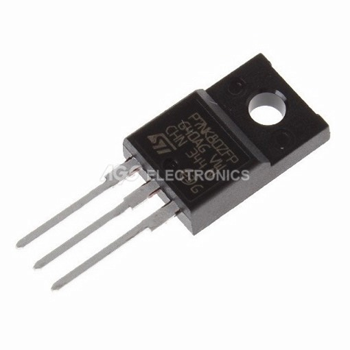 STP7NK80ZFP - ST P7NK80ZFP TRANSISTOR MOSFET N-CH  800V 5,2A 3 PIN TO220