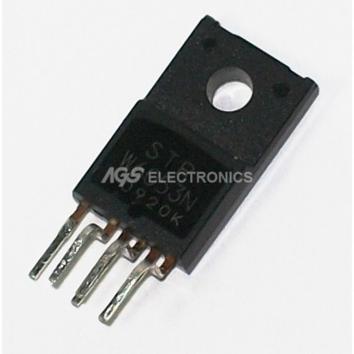 STRW6053N - STRW 6053N  Mode Control PWM Regulator