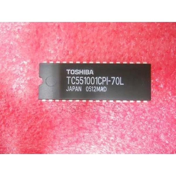 TC551001CPI70L - TC 551001CPI-70L Circuito Integrato