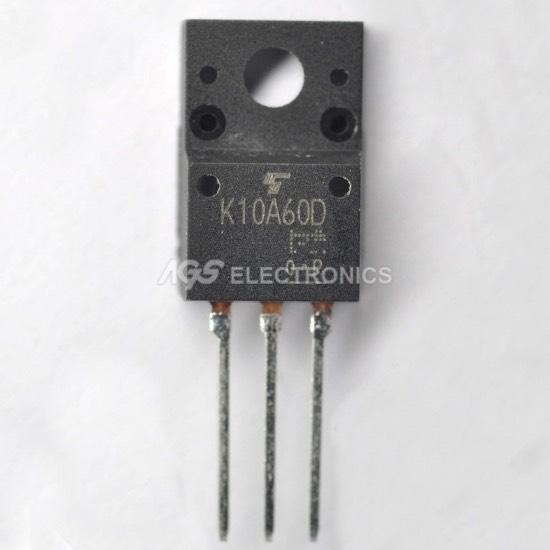 TK10A60D - T K10A60D Transistor MOSFET N-ch 600V 10A