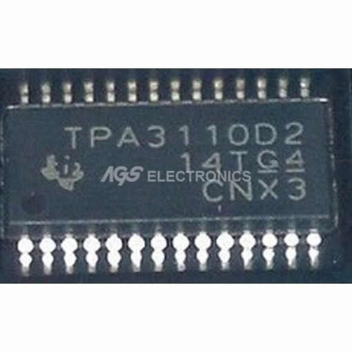 TPA3110D2 - TPA 3110D2 INTEGRATO AUDIO POWER AMPLIFIER