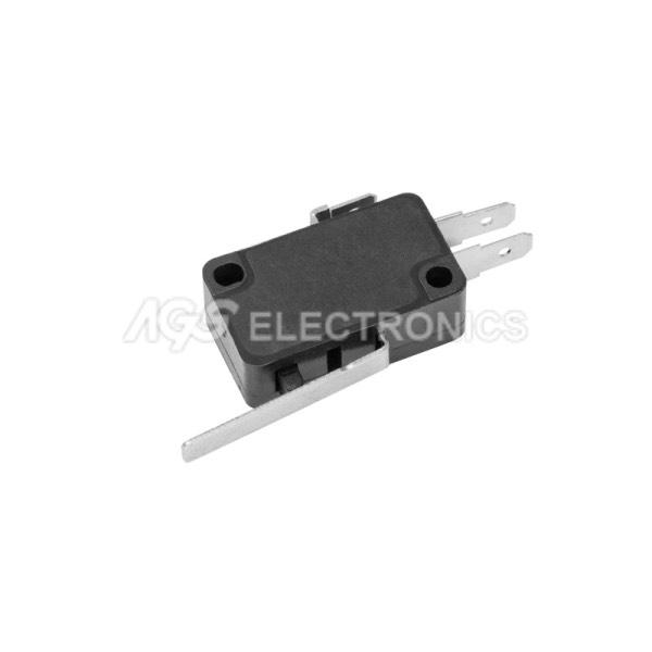Tact Switchs micro 27.8 x 15.9 x 10.3mm, leva 27.0mm TSW016  TSW-016
