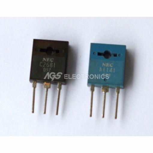 Details about 2sa11412sc2681 - 2sa 1141-2sc 2681 - A1141 C2681 Pair Kit  Transistor
