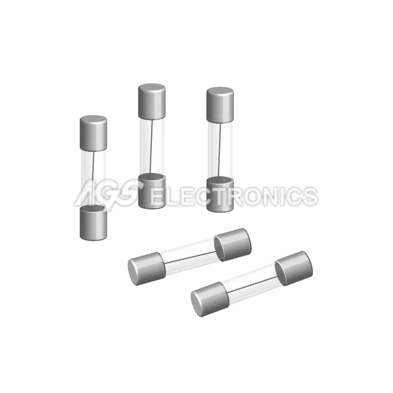 10 x FUSE 5x20mm SLOWBLOW FUSIBILE RITARDATO  3.15A  3,15A 10 pezzi